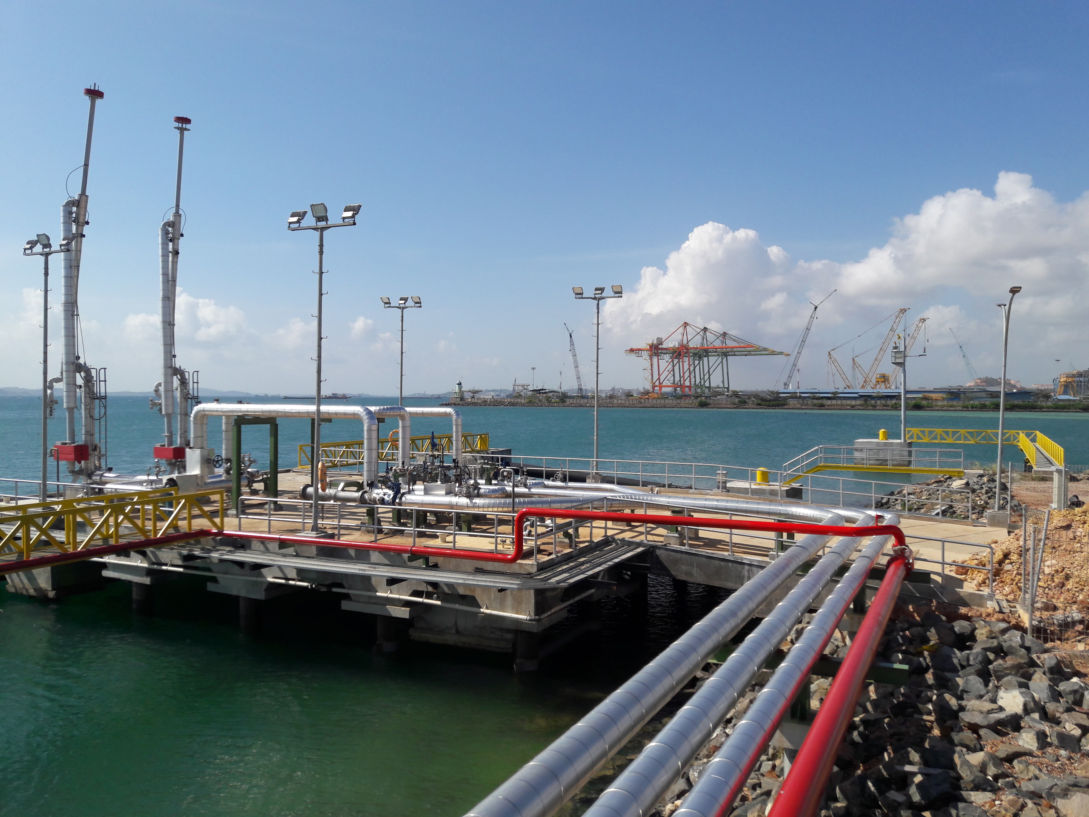 MATERIAL SUPPLY, CONSTRUCTION AND INSTALLATION WORK FOR JETTY 4